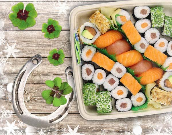 Sushi-Neujahrs-Box