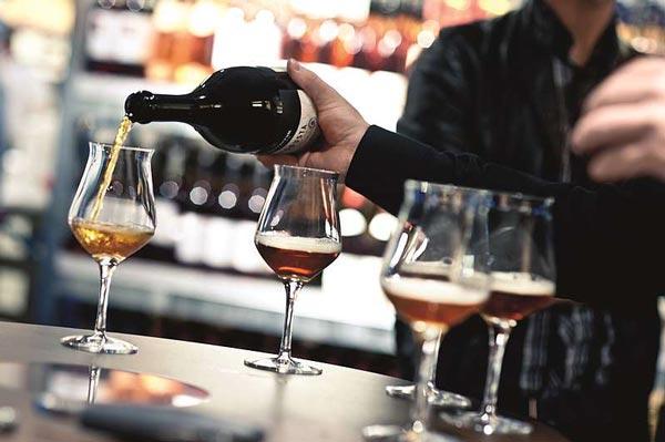 Bier-Degustation