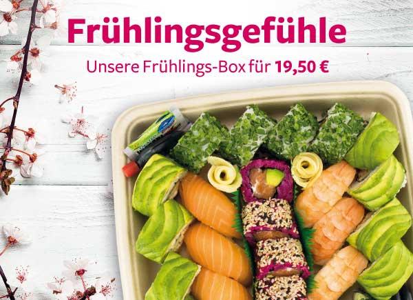 Sushi-Frühlingsbox